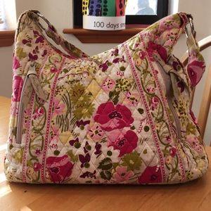 Vera Bradley Make Me Blush shoulder bag